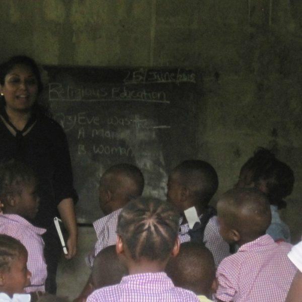 Una scuola a Freetown in Sierra Leone