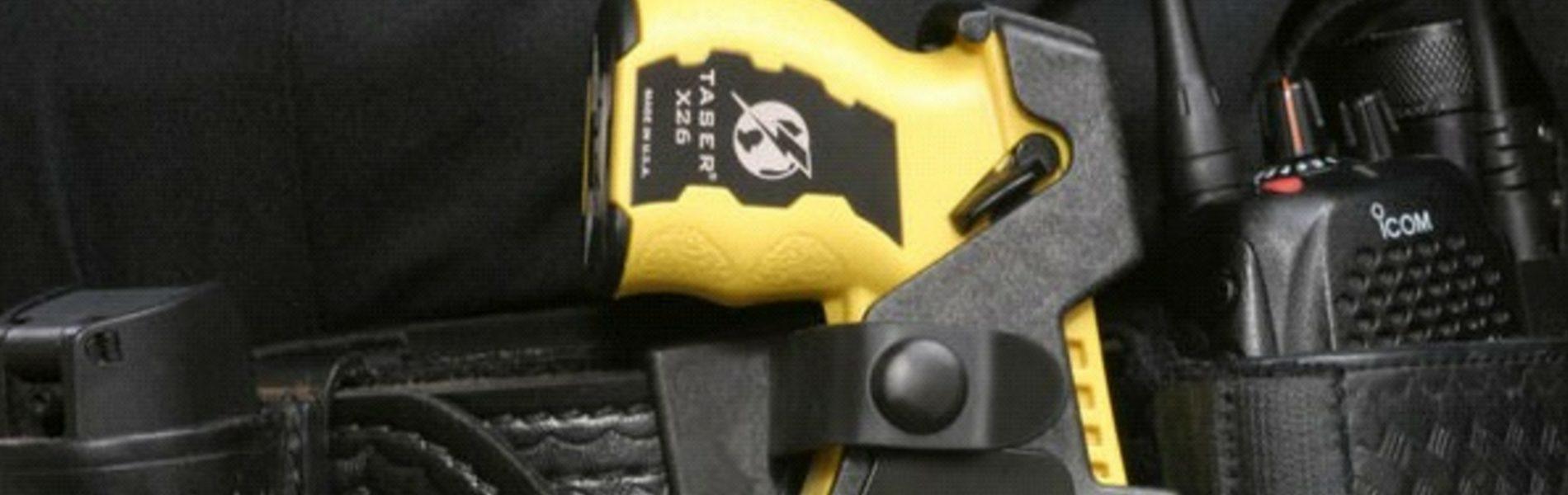 Introduzione in via definitiva pistole Taser