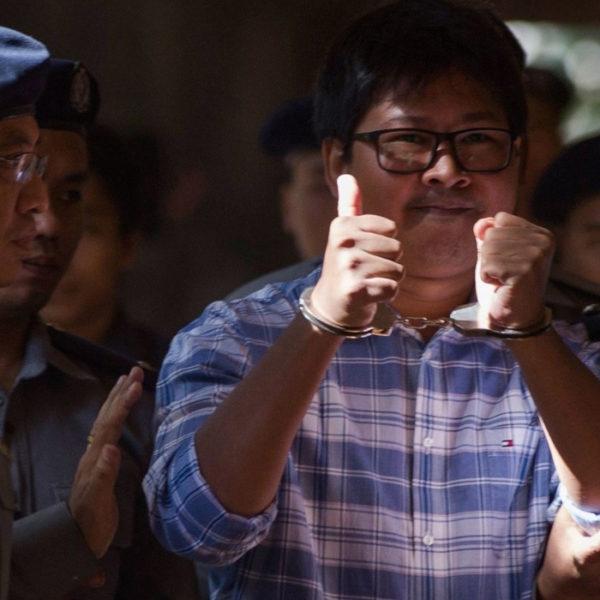 Giornalisti Reuters Myanmar Pulitzer