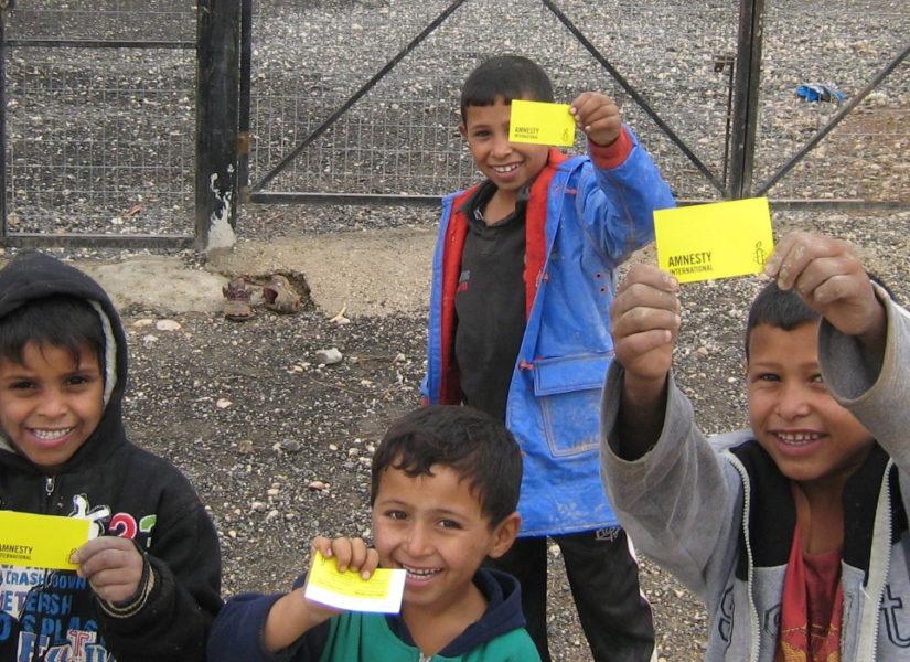 scuola bambini palestinesi