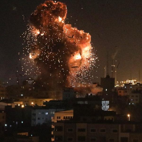 razzo gaza abitazione tel aviv