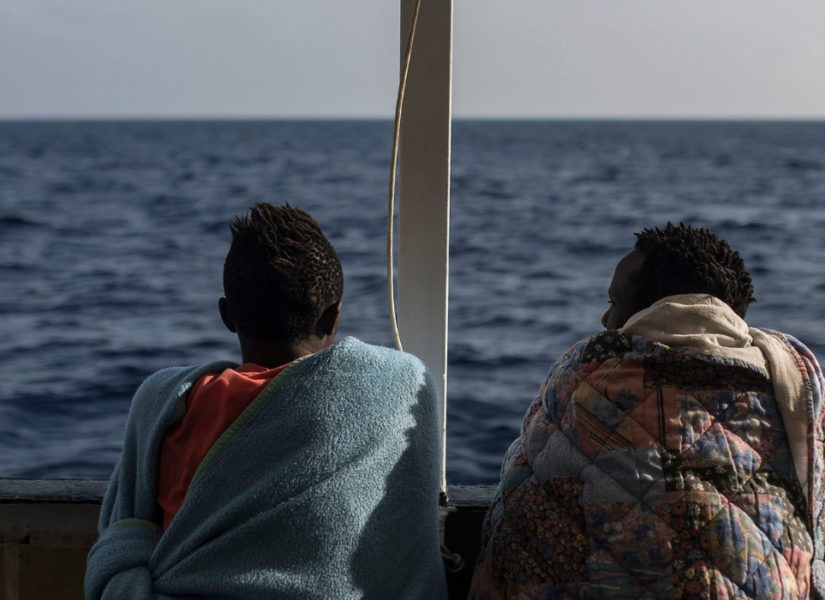 salvare vite in mare sea watch