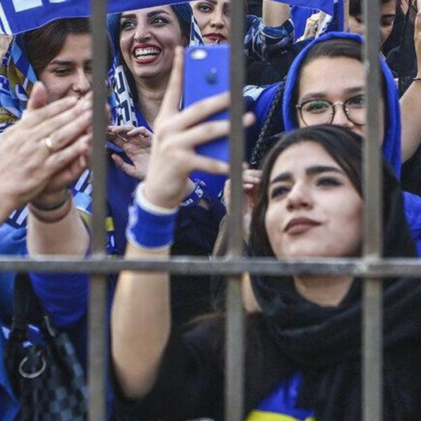 iran biglietti stadio donne